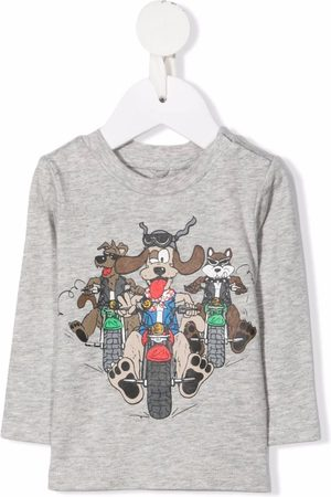 Stella McCartney Cartoon-print cotton T-shirt