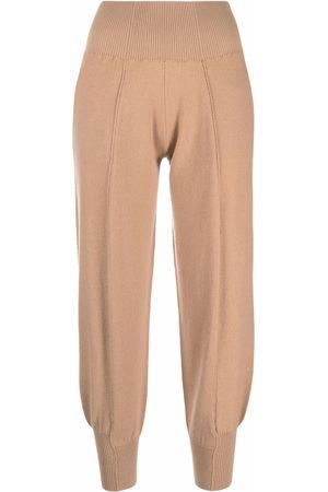 Stella McCartney Tapered wool-blend track pants