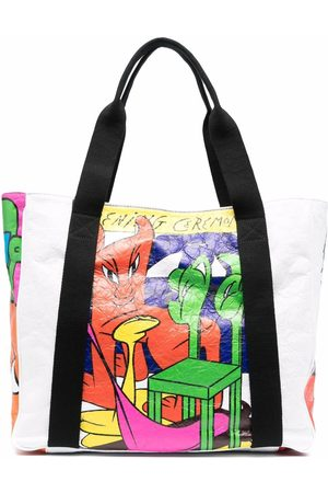 Opening Ceremony Women Tote Bags - Graphic-print tote bag