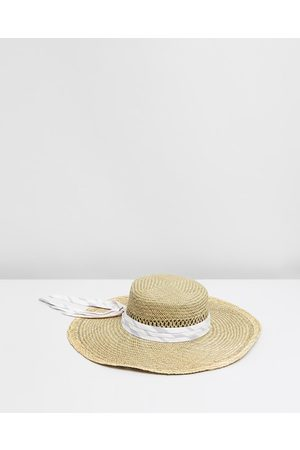 fallenBROKENstreet Women Hats - The Sunshine Straw Hat - Hats (Natural) The Sunshine Straw Hat