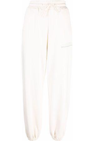 Msgm Organic cotton slouchy track pants