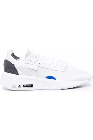 adidas Colour-block lace-up sneakers