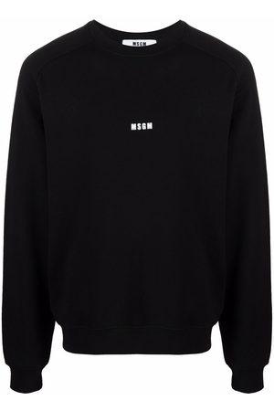 Msgm Men Sweatshirts - Logo-print sweatshirt