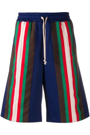 Gucci Technical jersey striped shorts