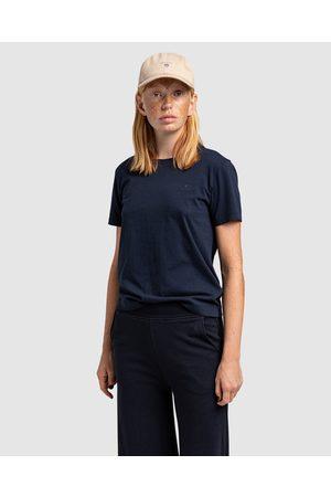 GANT Original Short Sleeve T Shirt - Short Sleeve T-Shirts (EVENING ) Original Short Sleeve T-Shirt