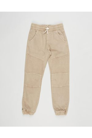 Cotton On Kids Jeans - Slouch Jogger Jeans Kids Teens - Jeans (Bronte Stone) Slouch Jogger Jeans - Kids-Teens