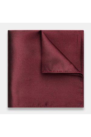 Politix Men Pocket Squares - Pocket Squares, One Size Burgundy Filippo Pocket Square