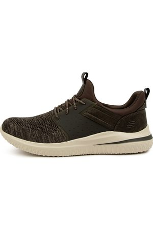Skechers 210238 Delson 3.0 Cicada Sk Olive Sneakers Mens Shoes Casual Casual Sneakers