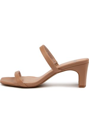Mollini Hailed Mo Dk Nude Sandals Womens Shoes Dress Heeled Sandals
