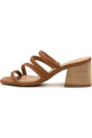 Therapy Ilex Th Tan Sandals Womens Shoes Casual Heeled Sandals
