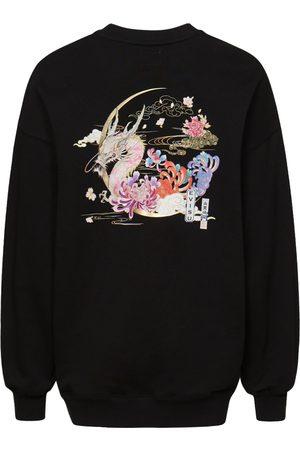 Evisu Moonlight Dragon Print Sweatshirt