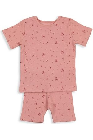 Pouf Girls Sets - Baby's & Little Girl's 2-Piece Floral Shorts Set
