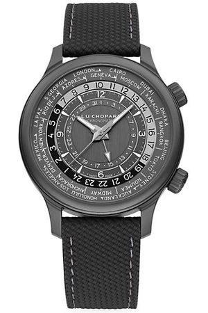 Chopard L.U.C Time Traveler One Black Titanium Watch