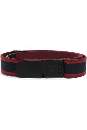 Tod's Men Belts - Stripe-detail snap-fit belt