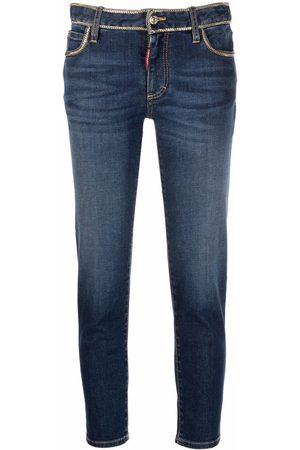 Dsquared2 Women Slim - Twiggy cropped slim jeans