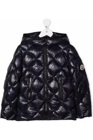 Moncler Enfant Quilted hooded down jacket