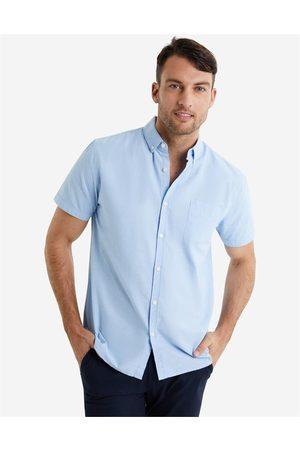 Hallensteins Washed Oxford Short Sleeve Shirt in Oxford