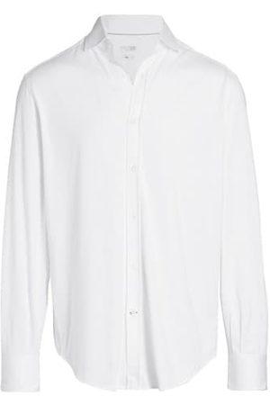 Brunello Cucinelli Classic-Fit Jersey Button-Down Shirt