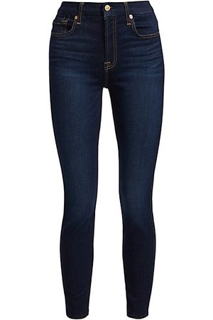 7 for all Mankind The High-Rise Ankle Skinny Jeans