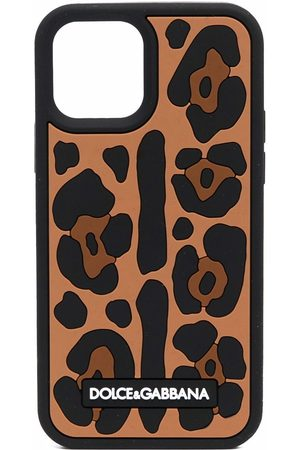 Dolce & Gabbana Women Phone Cases - Leopard-print iPhone 12 Pro case