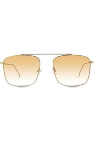 Finlay & Co Parker Sunglasses in with Orange to White Lenses