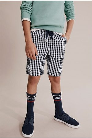 COUNTRY ROAD Gingham Short - Navy