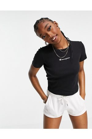 Champion Ribbed crop top in