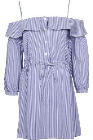 Jovonna London WOMEN'S 341BENCHLEYBLUE COTTON DRESS