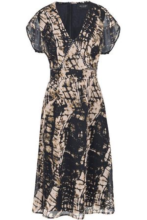 Religion Hide Print Dress