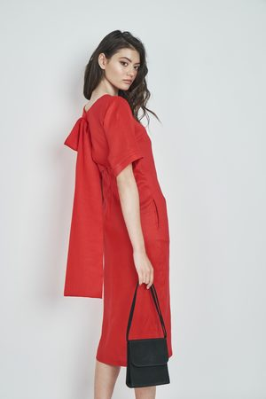 DALB Mary Dress (Linen Blend Midi Tunic Dress)