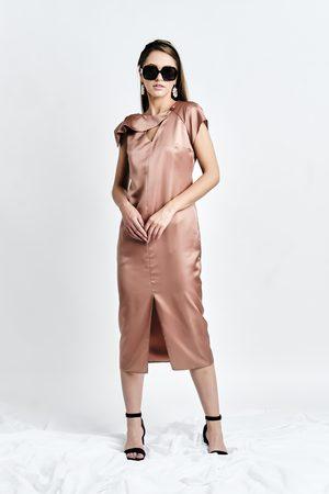 DALB ZANA Dress (Silk-blend Midi Tunic Dress)