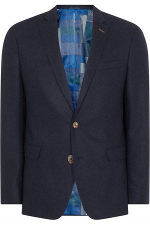 Remus Uomo Light Flannel Blazer Navy Colour: Navy