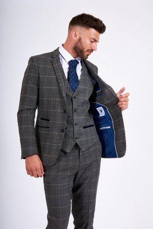 """Marc Darcy Scott Tweed Blazer Mens 34"""" Chest"""