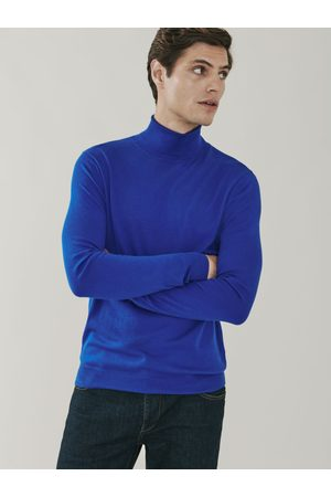 MrQuintessential Piccadilly Silk and Cashmere Roll Neck Sweater
