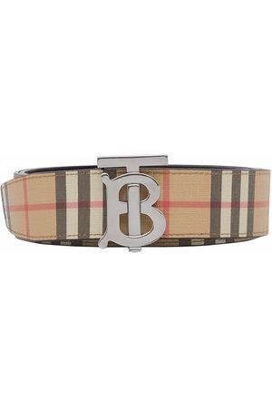 Burberry Monogram-buckle belt