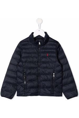 Ralph Lauren Embroidered-logo padded jacket