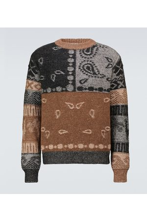 Alanui Las Cuevas wool and alpaca sweater