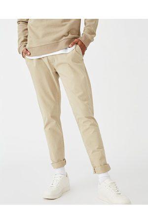 Cotton On Men Stretch Pants - Skinny Stretch Chinos - Pants (Washed Stone) Skinny Stretch Chinos