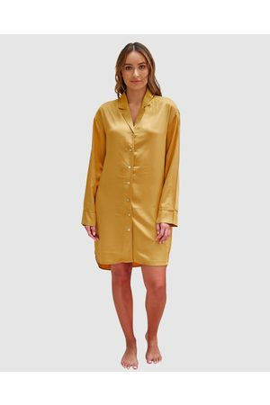 Mulberry Threads Louise Bamboo Sleep Shirt - Sleepwear Louise Bamboo Sleep Shirt