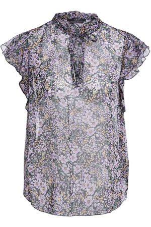 Set Fashion Set Floral Print Blouse