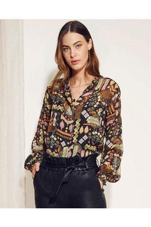 Dante6 Agna folky print blouse