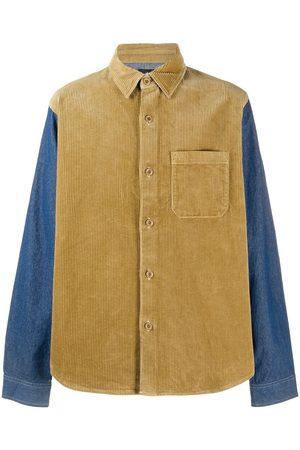 St ssy Corduroy Denim Mix Shirt