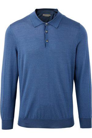 Corneliani Silk & Cashmere Long Sleeve Polo