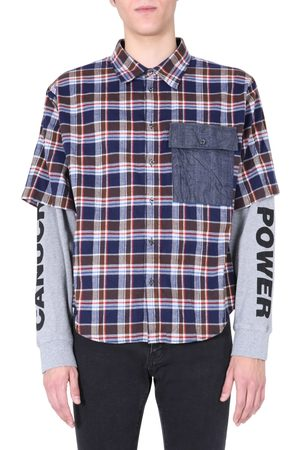 Dsquared2 SHIRT WITH DOUBLE SLEEVES