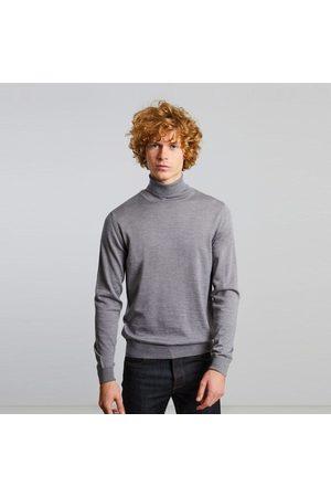L'Exception Paris Merino wool turtleneck jumper Gris clair