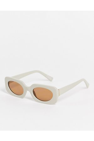 ASOS Women Sunglasses - Mid square sunglasses with tonal lens in -Neutral