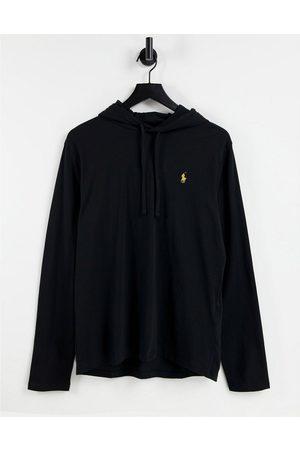 Polo Ralph Lauren Player logo hooded long sleeve t-shirt in