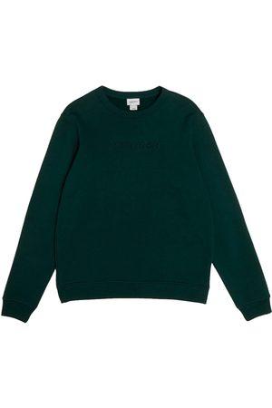 Woolrich Luxury Crew Neck Sweatshirt Dark Holly
