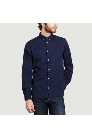 Norse Projects Men Long sleeves - Anton Denim Shirt Indigo