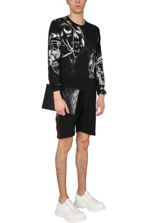 McQ Alexander McQueen BERMUDA WITH SELVEDDED LOGO BAND